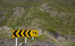 Limit sign. Limit warning sign at New Zealand Stock Photos