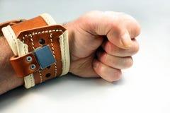 Limitação do pulso Imagens de Stock