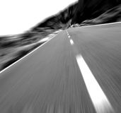 Limitation de vitesse Photos stock