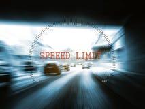 Limitation de vitesse Images libres de droits