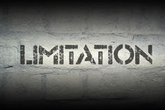 Limitation Royalty Free Stock Photos