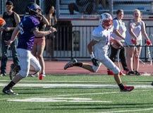 Limite de touchdown Photographie stock libre de droits