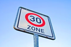 Limite de velocidade Imagem de Stock