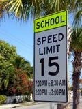Limite de velocidade Fotos de Stock