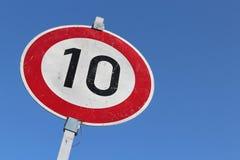 Limite de velocidade fotos de stock royalty free