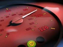 Limite de velocidade ilustração stock
