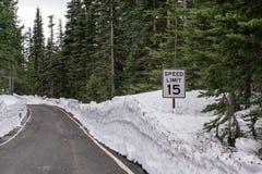 Limite de velocidade 15 Fotos de Stock