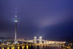 Limite della Macao fotografie stock libere da diritti