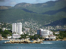 Limite di Acapulco Fotografie Stock Libere da Diritti