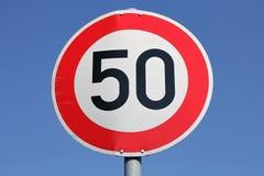 Limite di velocità Immagine Stock Libera da Diritti