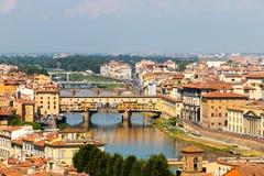 Limite famoso di Firenze Fotografia Stock Libera da Diritti