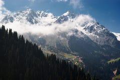 Limite naturale Chimbulak, Kazakhstan Fotografia Stock