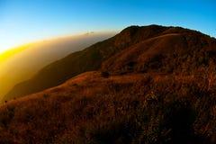 Limite o mundo, o mundo redondo, curva, paisagem Fotografia de Stock