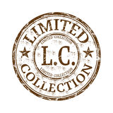 Limited collection grunge rubber stamp Stock Image