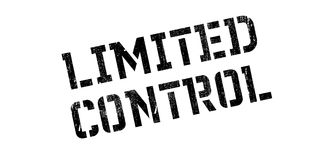 Limited Control rubber stamp Stock Photos