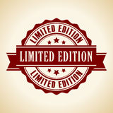 Limited edition icon royalty free illustration