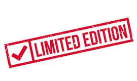 Limited Edition rubber stamp Stock Photography