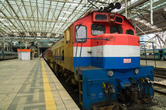 Limited Express Saemaul at Seoul Station Royalty Free Stock Photos