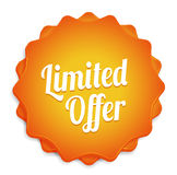Limited Offer Badge Stock Images