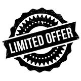 Limited offer stamp Royalty Free Stock Photography