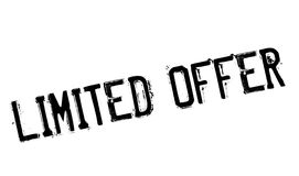 Limited offer stamp Royalty Free Stock Photos