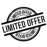 Limited offer stamp Stock Photography