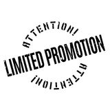 Limited Promotion rubber stamp Royalty Free Stock Images