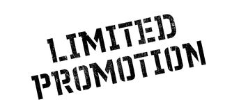 Limited Promotion rubber stamp Royalty Free Stock Image