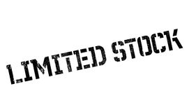 Limited Stock rubber stamp Stock Photos