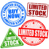 Limited stock  stamp set Royalty Free Stock Photography