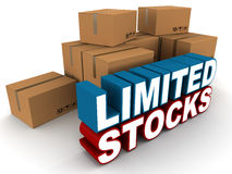 Limited stocks Stock Images