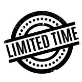 Limited Time rubber stamp Stock Images