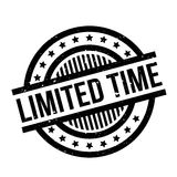 Limited Time rubber stamp Royalty Free Stock Photo