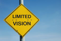 Limited Vision Royalty Free Stock Photos