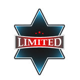 Limitowana odznaka Obraz Royalty Free