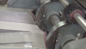 Limma polyetylenfilmen till asken lager videofilmer