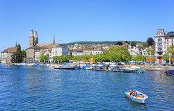 Limmat river Stock Images