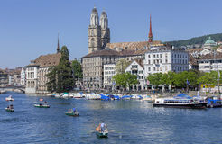 Limmat river Stock Image