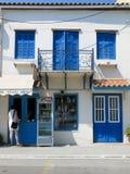 Limni在希腊 库存照片