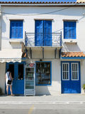 Limni in Grecia Fotografie Stock