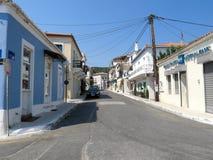 Limni in Griechenland Stockfoto