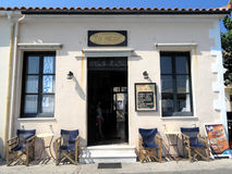 Limni in Griechenland Lizenzfreie Stockfotos