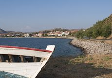 Limnos Island, Greece Royalty Free Stock Images