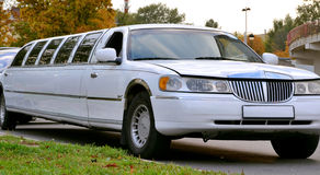 Limo Car Stock Photo