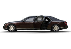 Limo Car. 3D render image representing a limo car Royalty Free Stock Photography