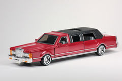 Limo de estiramento de Cadillac imagens de stock