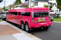Limo de estiramiento de Hummer de las rosas fuertes, Sydney, Australia Imagenes de archivo