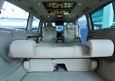 Limo interior Stock Image