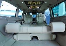 Limo interior. Interior of luxury benz limousine Stock Image