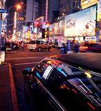 Limo in New York stock photography